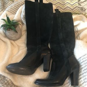 Frye Black knee high boots